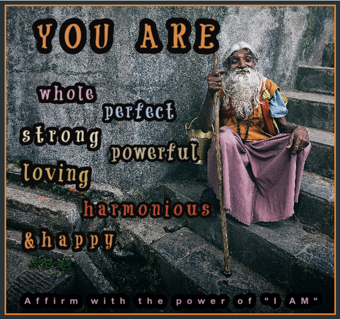 The Perfect Affirmation